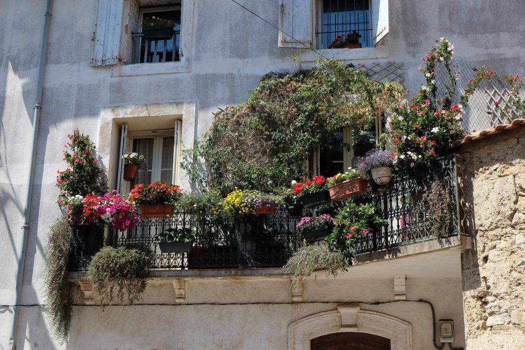 Concours fleuri 2014 balcon 2emeprix for Facade maison avec balcon