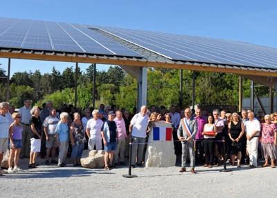 Le 20 juin 2014, Henry Fricou, Yves Piétrasanta ont coupé le ruban inaugural en présence de du conseil municipal.