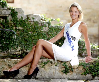 Marie Fabre, Miss Languedoc 2014