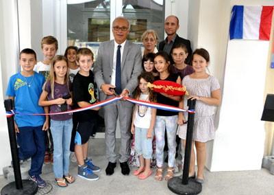 Henry Fricou inaugure les travaux d'extension et de rénovation de l'école municipale de musique