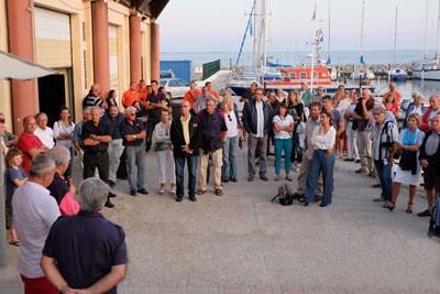 Plus de 120 personnes ont participé au cinquantième anniversaire du Yacht Club de Mèze, le 4 octobre