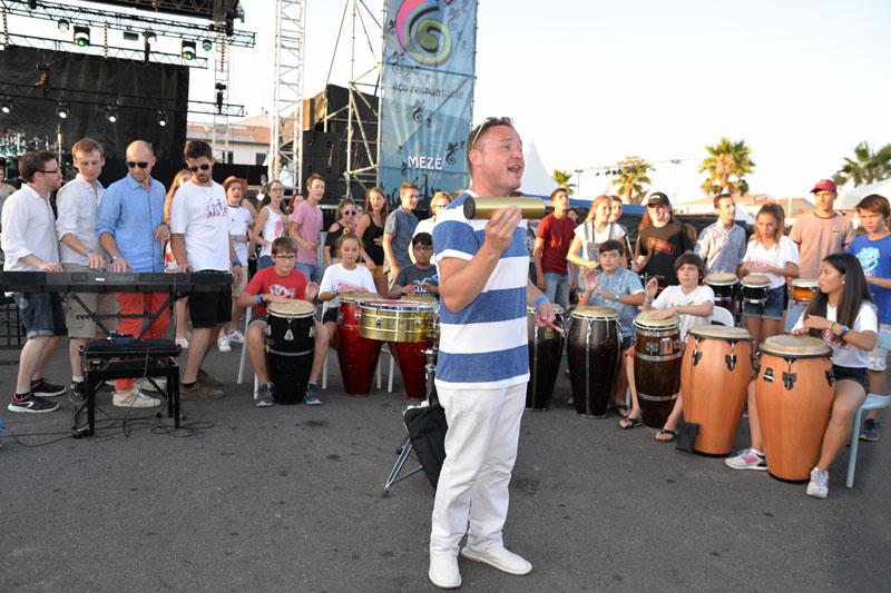 Sérénades de l'école municipale de musique - stage Percussions du Monde